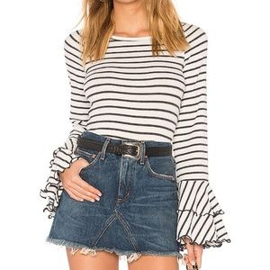 Free People [We The Free] Good Find Stripe Top S